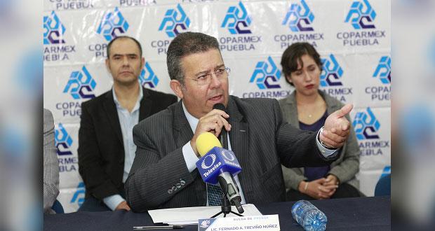 Coparmex pide a Barbosa incluir en agenda reducir o eliminar ISN