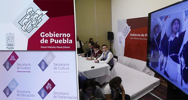 Gobierno de Barbosa presenta su slogan e imagen institucional