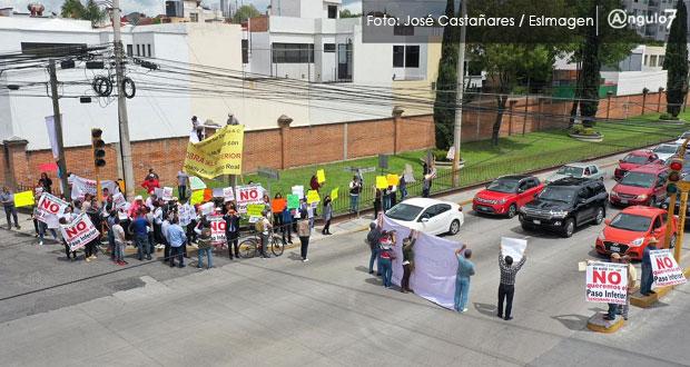 Gobierno entrante heredará conflicto por paso inferior en Zavaleta