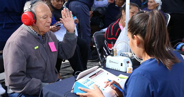 Gobierno estatal y DIF dan 1,440 aparatos ortopédicos para poblanos