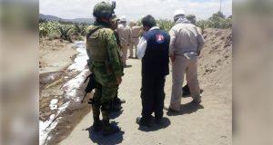 Gobiernos federal y estatal atienden fuga de gas en Palmar de Bravo