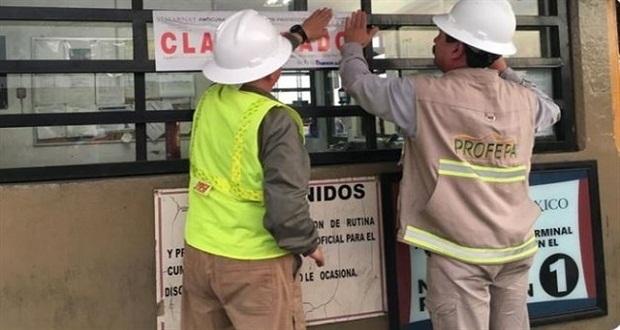Profepa clausura terminal de Grupo México