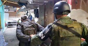 Guardia Nacional se suma a operativo en Mercado Unión; al menos 14 detenidos