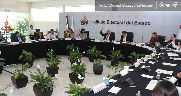 IEE aplica multas de 3.2 mdp a 7 partidos por anomalías en fiscalización