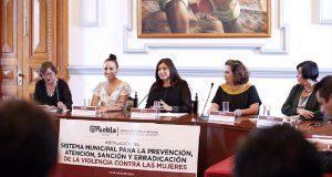 Instalan sistema municipal para erradicar violencia contra mujeres