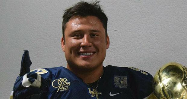 Hallan muerto a exjugador de futbol americano de Pumas CU