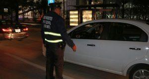 SSP sanciona a 32 durante Operativo Alcoholímetro en fin de semana