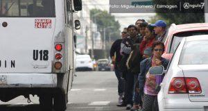 Paro parcial de transportistas; gobierno estatal revocará concesión a nueve