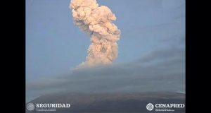Popocatépetl registra 134 exhalaciones y seis explosiones: PC