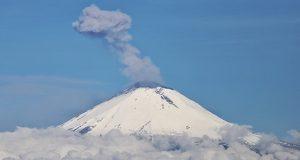 Domo 83 se formó en el Popocatépetl: Protección Civil