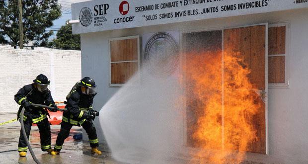 Puebla, con más bomberos certificados en diferentes ramas: Alonso