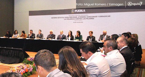 Puebla cumpliría alerta de género este año y en 2020 se le retiraría: Conavim