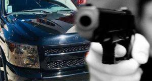 Roban camioneta a tianguista y lo matan en San Martín Texmelucan