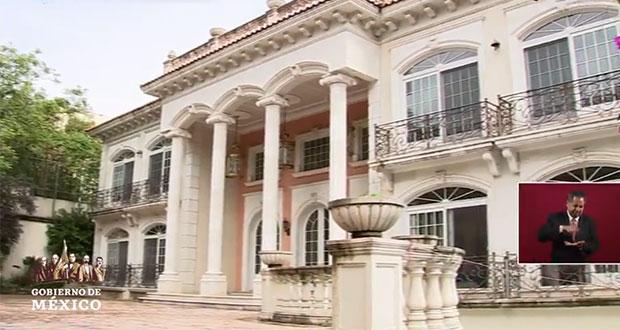 SAE muestra mansión que fue de Zhenli Ye Gon; la subastaría en agosto