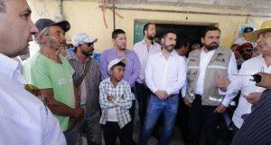 SGG va por plan de reordenamiento en Santo Tomás Chautla