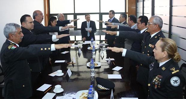 SSPC toma protesta a titular y comisión operativa de Guardia Nacional