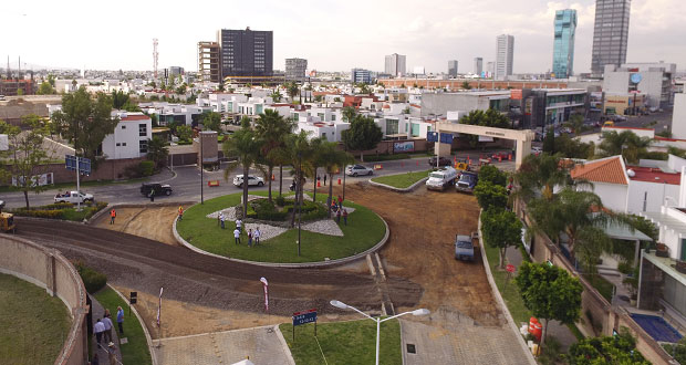 San Andrés inicia rehabilitación en rotonda de avenida Del Castillo
