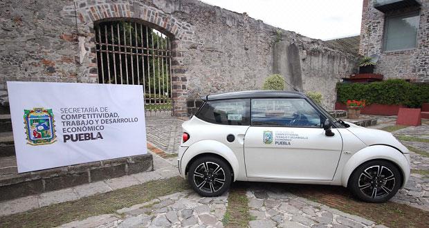 Secotrade adquiere auto eléctrico ensamblado en Puebla
