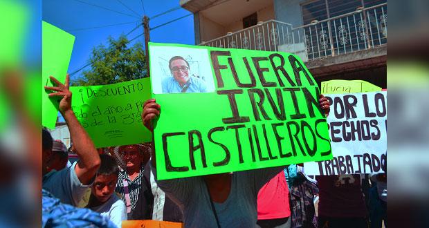 Ayuntamiento de Izúcar descalifica lucha: empleados del Sosapamim