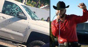 En Sonora, acribillan a Luis Mendoza, cantante de narcocorridos