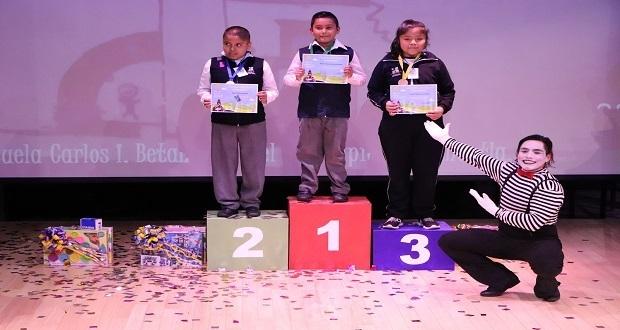 Menores participan en concurso que fomenta zonas arqueológicas