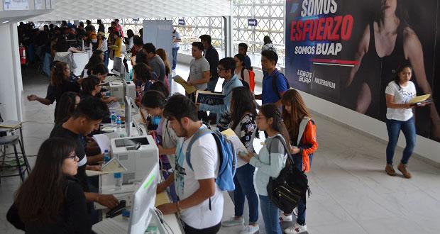 Más de 23 mil alumnos de BUAP inician inscripción a licenciatura