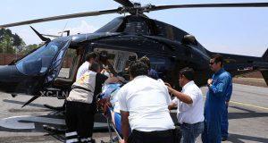 Se accidenta edil de Zihuateutla y lo trasladan a hospital de Puebla