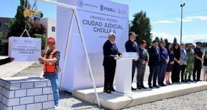 Inicia ampliación de Ciudad Judicial en San Pedro Cholula