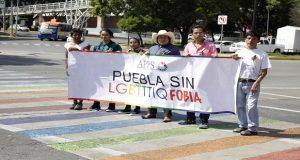 Repintar paso peatonal de la FGE con bandera gay no es para confrontar: APPS