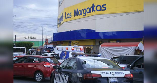 Por 2ª vez en 2 meses, asaltan Coppel de Las Margaritas en Puebla