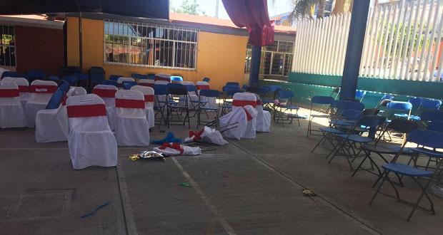 Hay dos policías y un civil muertos tras balacera en Guadalupe Santa Ana