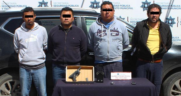 Cae banda dedicada a robo de transporte de carga en la México-Puebla