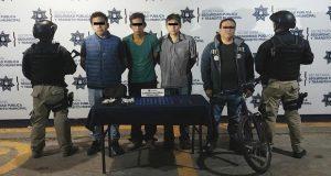 Decomisan 100 dosis de droga y detienen a cuatro en San Felipe