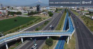 71% de poblanos no usa ciclopistas elevadas de RMV : encuesta