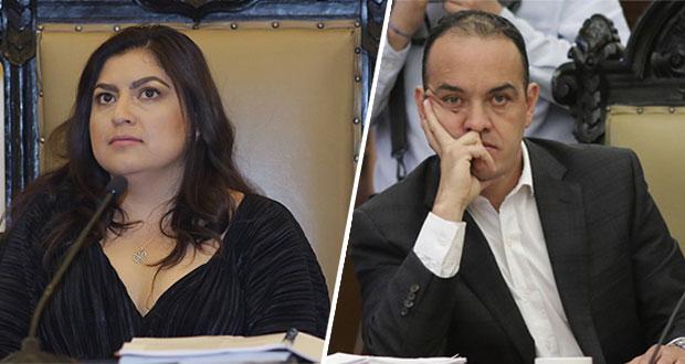Rivera y regidor morenista se confrontan por estados financieros