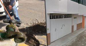Acusan cobro excesivo y abusos de Agua de Puebla en Tres Cruces