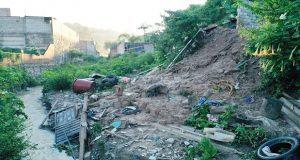 Sube a 7 el número de muertos por deslave en Chautla; 3 adultos y 4 menores