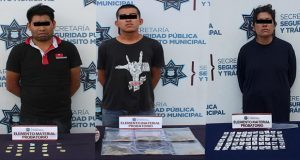 Detienen a 3 en varias zonas de la Angelópolis por posesión de droga