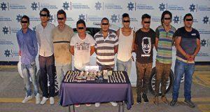 Incautan 55 dosis y procesan a 9 por posesión de droga en San Ramón