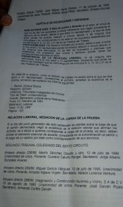 Gonzalo Juárez desconoce ante JLCA que despidió a excolaborador