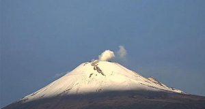 PC y Cenapred identifican 77 exhalaciones del Popocatépetl