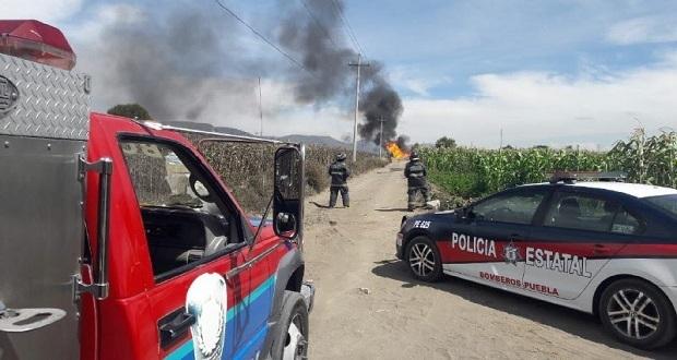 Fuga de gas LP explota; hay 4 policías y 2 elementos de PC heridos