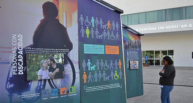 Llega exposición Túnel Memoria y Tolerancia a la BUAP