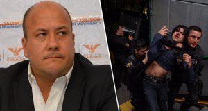 En Jalisco, vapulean a Alfaro por alza en trasporte y detenciones