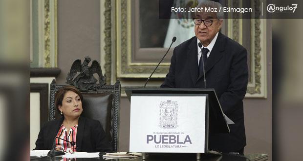 Estabilidad y certidumbre, primer paso para potenciar a Puebla: Pacheco