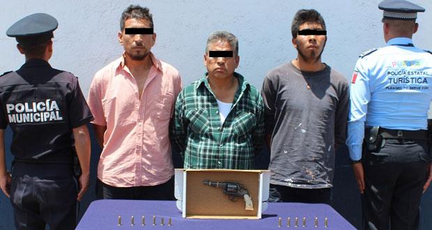 SSP y Ssptm detienen a tres por asesinato de hombre en Anzures