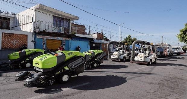 Ayuntamiento inicia jornadas de limpieza en juntas auxiliares