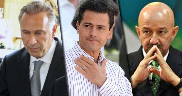En caso contra Collado, ligan a Peña y Salinas en trama de lavado