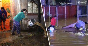 En 3 días, lluvias dejan 6 muertos, inundaciones y desbordamiento en Puebla