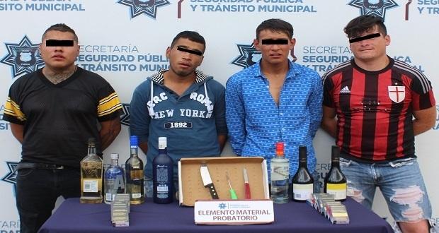 """Detienen a """"Los Tunas"""", vinculados con 12 a robos a Oxxo en Puebla"""